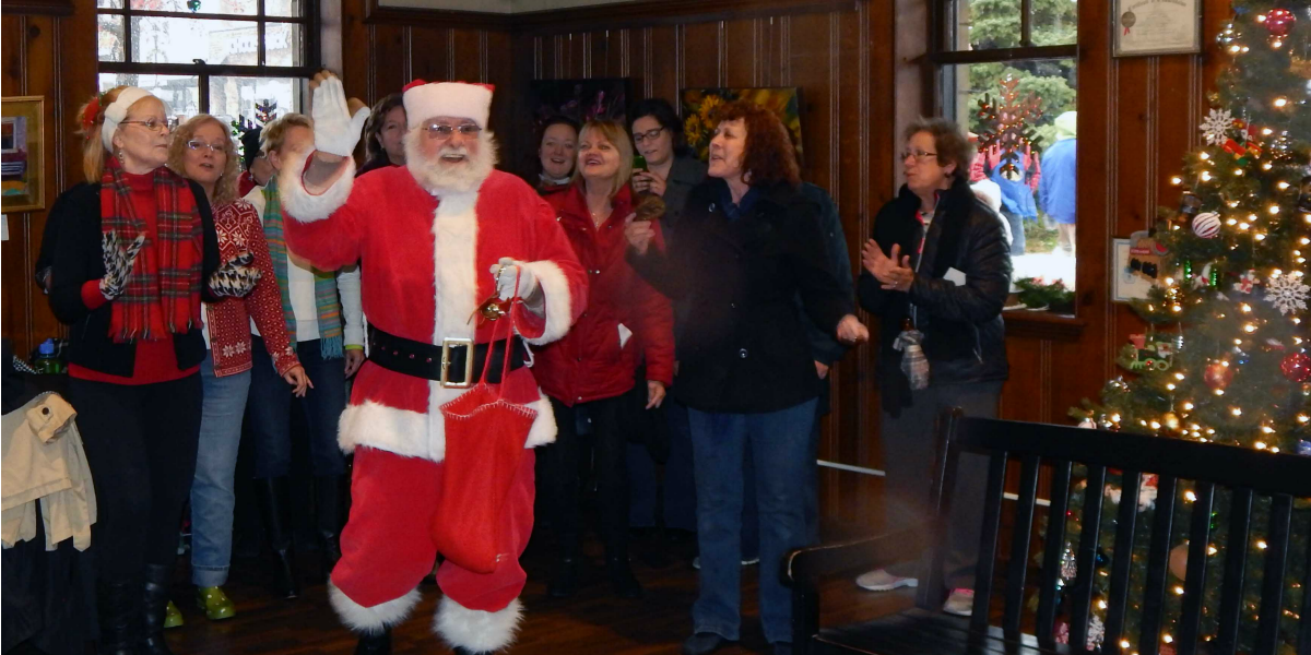 Photos with Santa at the Historic Kirkwood Train Station