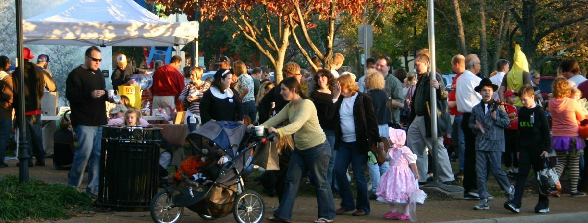 Halloween Walk Thursday, October 27