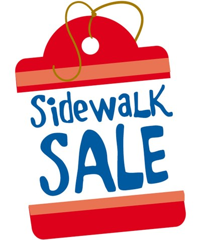 Image result for sidewalk sale images