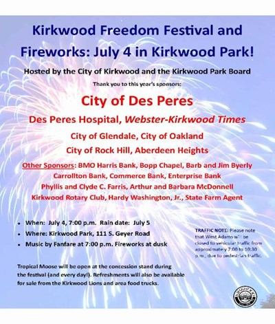 Kirkwood Freedom Festival and Fireworks