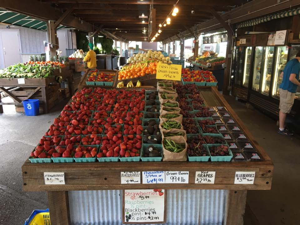 Summit Produce at Kirkwood Farmers' Market is open daily