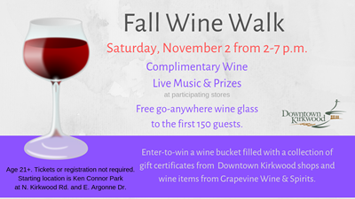 Fall Wine Walk